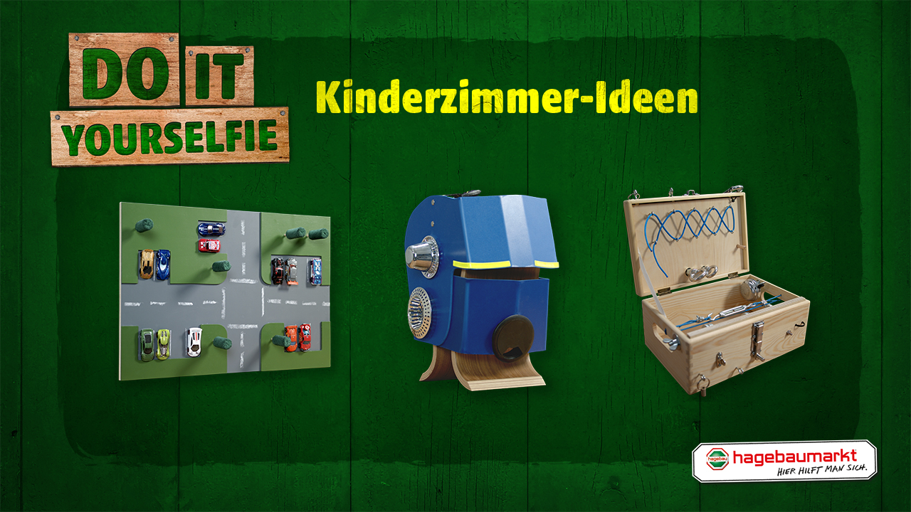 Spielideen Fur Das Kinderzimmer Do It Yourselfie Hagebau At